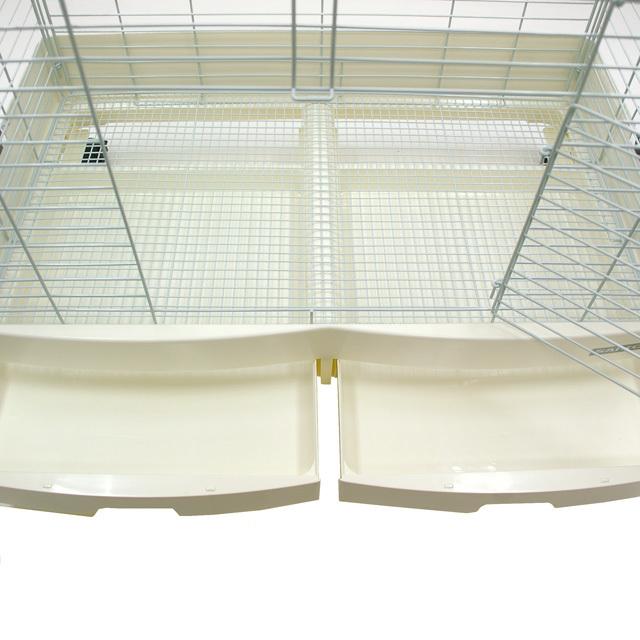イージーホーム エボ 80 WS(ワイヤーメッシュスノコ) ホワイト