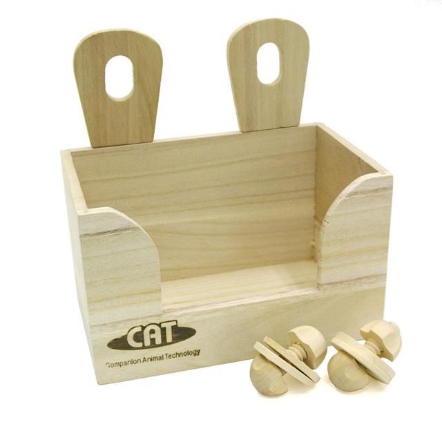 うさミミ かじり木牧草BOX