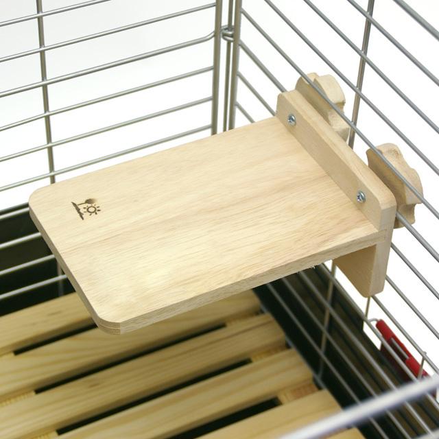 木製チンチラステージ