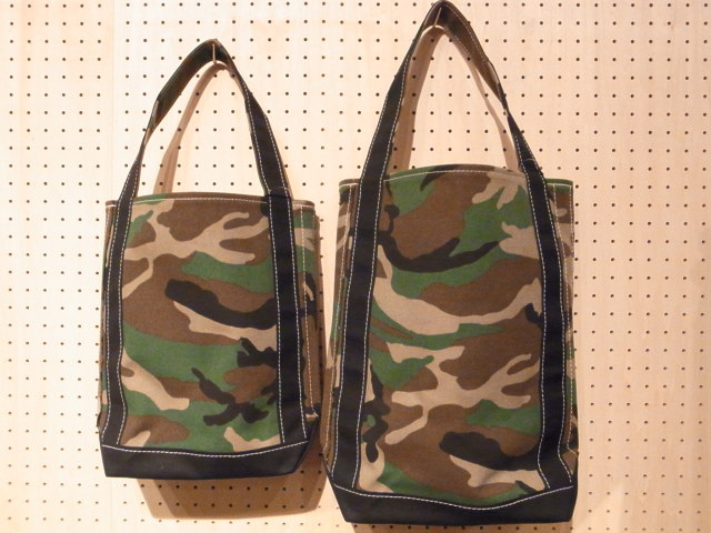 TEMBEA(テンベア) BAGUETTE TOTE(バゲットトート)WOODLAND CAMO