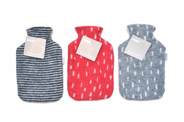 「LAPUAN KANKURIT」 Hotwater bottle フィンランドのウールカバー付き湯たんぽ