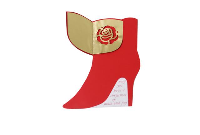 D-BROS(ディーブロス) クリスマスカード 「Boots」