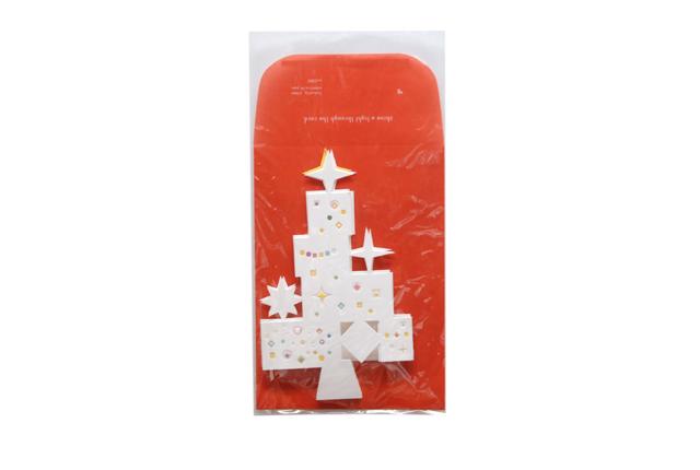 D-BROS(ディーブロス) クリスマスカード 「Shine the light」 ツリー