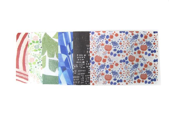 倉敷意匠計画室×点と線模様製作所 ワックスペーパーの文庫本カバー