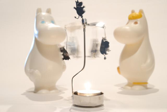 Moomin Rotary Candle Holder ムーミンロータリーキャンドルホルダー
