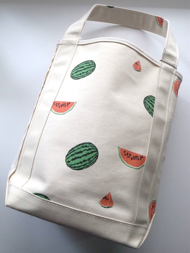 TEMBEA(テンベア) BAGUETTE TOTE(バゲットトート) スイカプリント