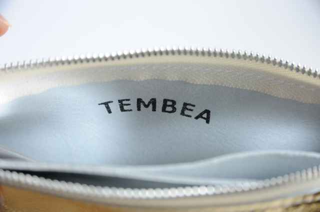 TEMBEA(テンベア) COLLECT PURSE TMB-1476A GOLD SILVER