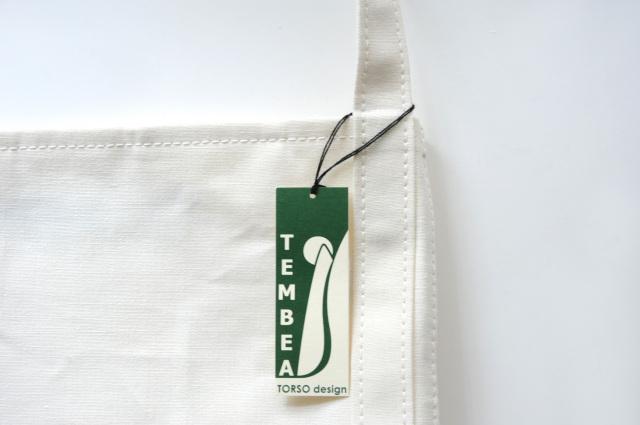 TEMBEA(テンベア) BAGUETTE TOTE LINEN WHITE
