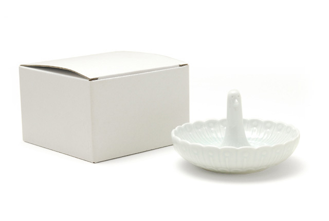 白山陶器 リングトレイ とり
