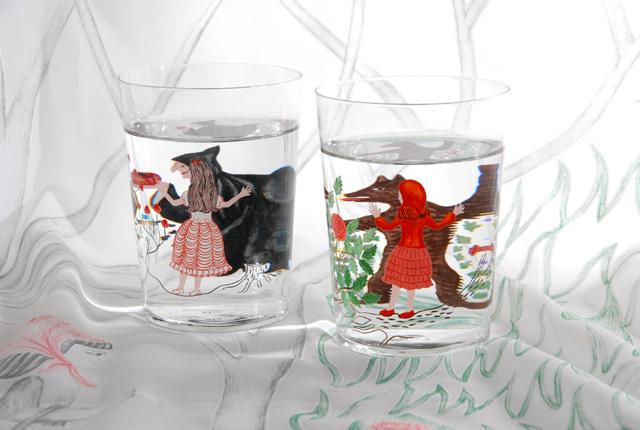 D-BROS(ディーブロス) グラス  童話を飲む方法 「Method of drinking fairy tale」