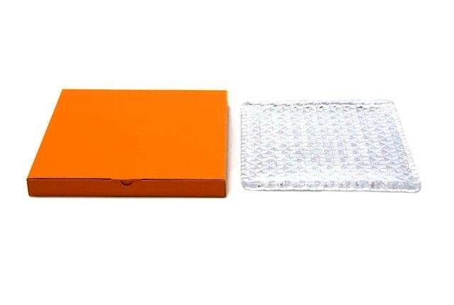 Sugahara Glass(スガハラガラス) 「grid plate・グリッドプレート」