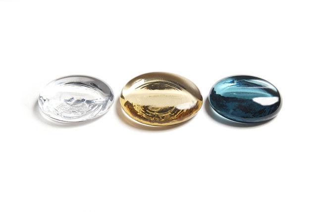 Sugahara Glass(スガハラガラス) 「丸箸置き」 クリアタイプ