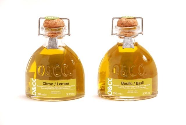O&CO(オーアンドコー) フレーバーオリーブオイル(レモンオイル・バジルオイル)瓶入りタイプ