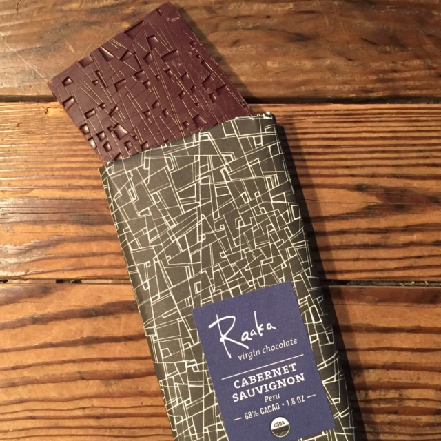 「Raaka」VIRGIN CHOCOLATE -CABERNET SAUVIGNON- カカオ68%