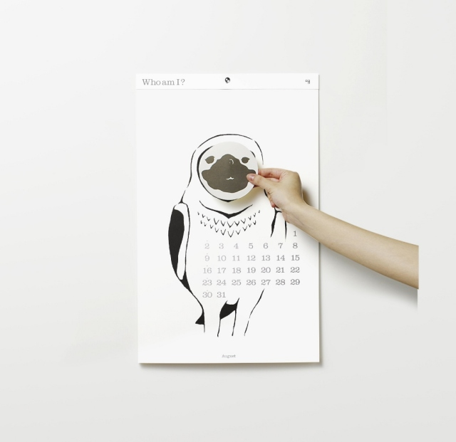 2015 D-BROS(ディーブロス) カレンダー 「Who am I?」 Takuma Fukuzawa