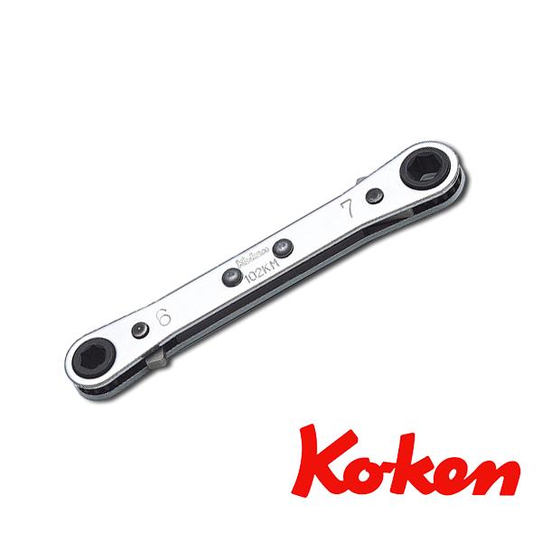 ko-ken (コーケン) コーケン工具 ラチェットスパナ 102KM