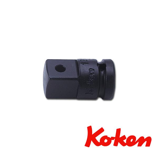 """Koken(コーケン) 1/4""""-6.35 12233A インパクトアダプター  凹1/4""""凸3/8"""""""