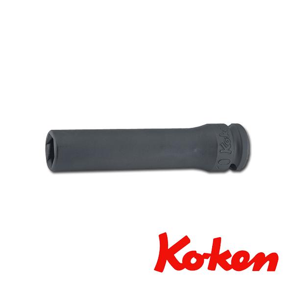 """Koken(コーケン) 3/8""""-9.5 13365M-19 インパクトパスファインダーディープソケット 19mm"""