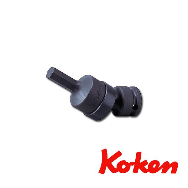 "Koken(コーケン) 3/8""-9.5 13430M-17 インパクトユニバーサルヘックスビットソケット 17mm"