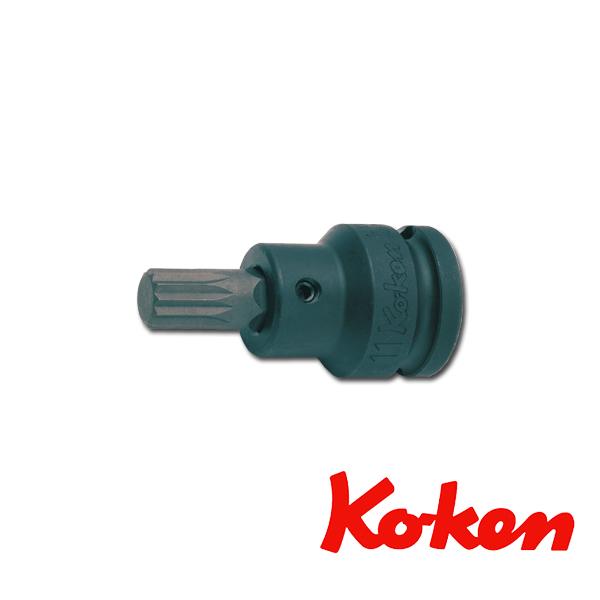 """Koken(コーケン) 1/2""""-12.7 14105-11-M12 インパクト3重4角ビットソケット M12"""