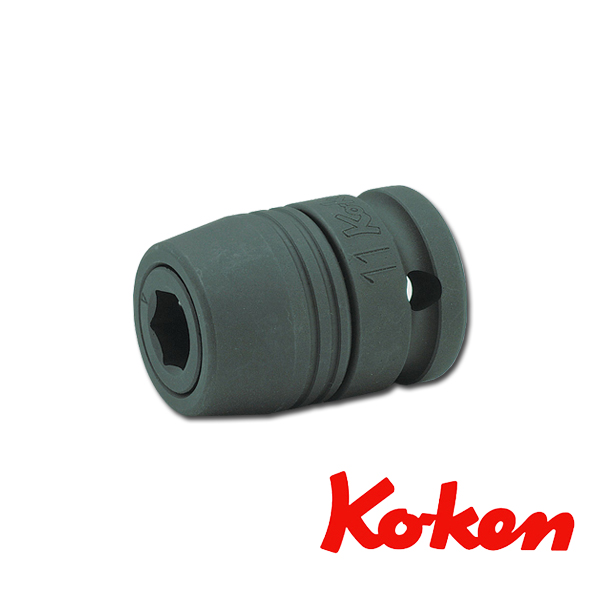 """Koken(コーケン) 1/2""""-12.7 14105L インパクトビットホルダー(スライドチャック)"""