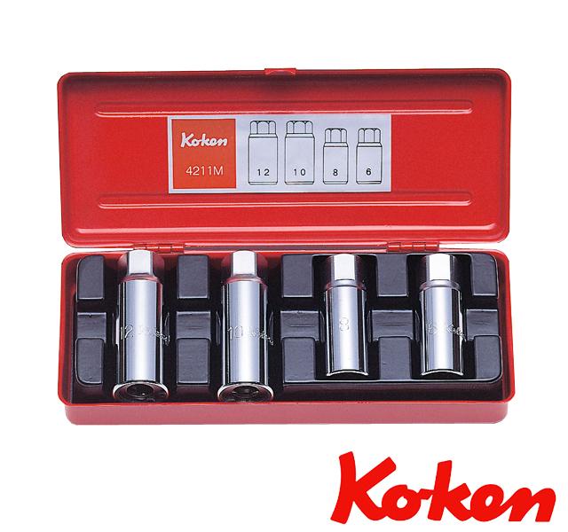 ko-ken (コーケン) コーケン工具 通販 スタッドボルト抜きセット 4211M