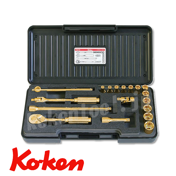Koken ゴールドメッキソケット P2251M-GP