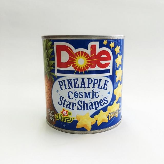 ドールスターシェイプ パイナップル缶