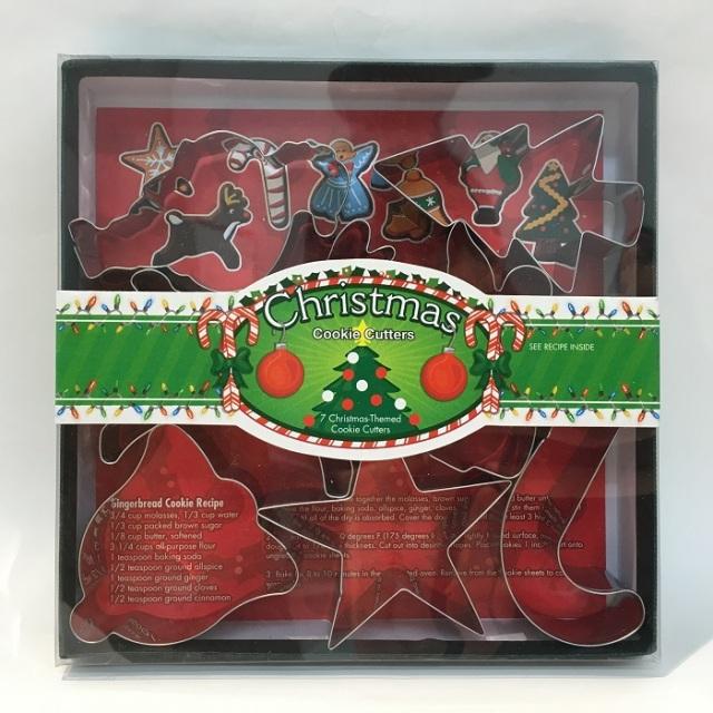 クッキー抜きセット クリスマス7P