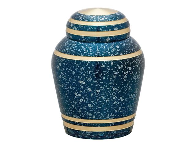 ミニ骨壺スターライトブルー