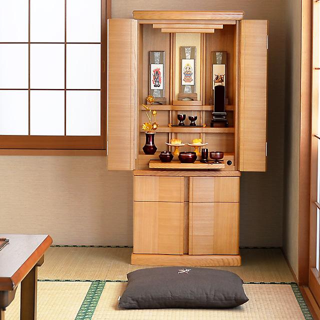 モダン仏壇 カプリス 40×17号