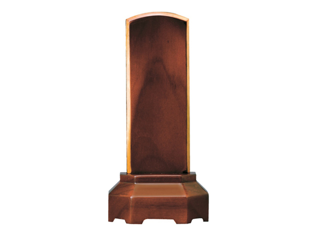 家具調 位牌【奏】 赤チーク 3.5寸~4.5寸