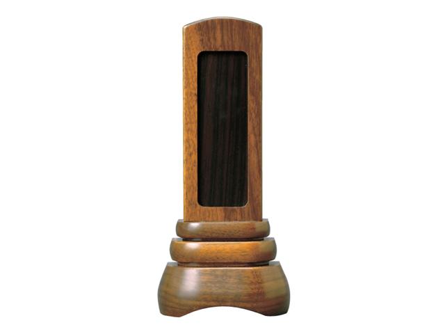 家具調 回出位牌【葵】 内紫檀 3.5寸~4.5寸