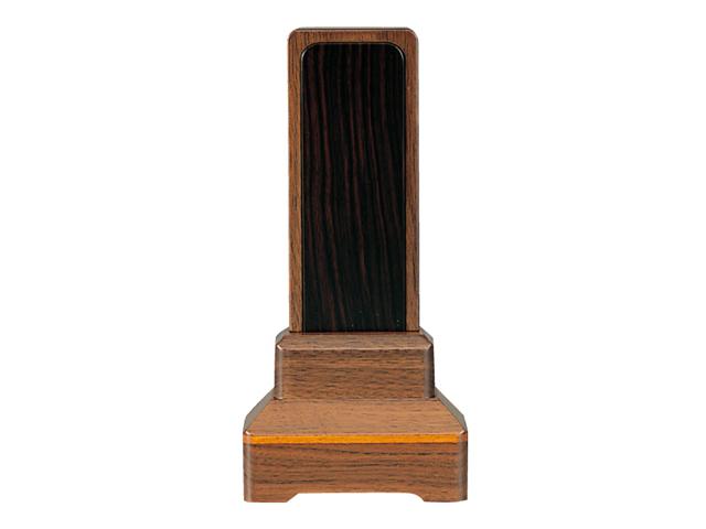 家具調 位牌【常葉】 内黒檀 ウォールナット 3.5寸~5.0寸
