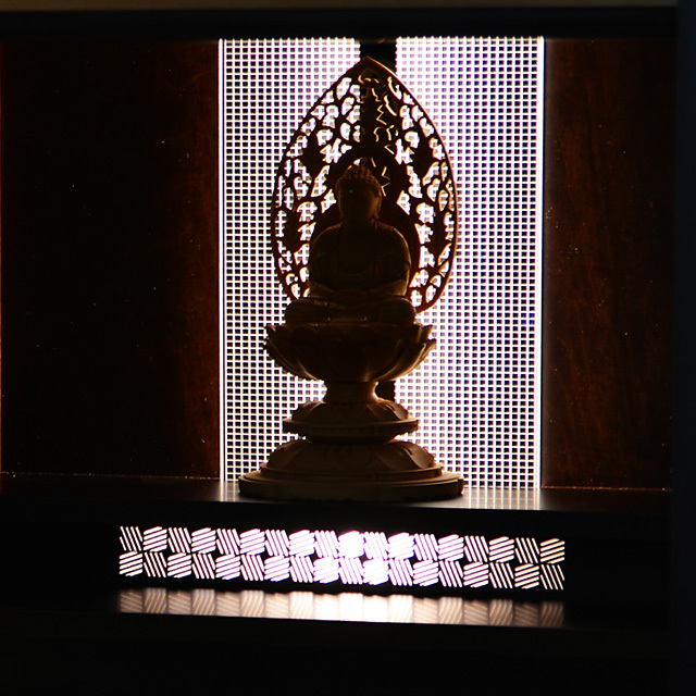照明 仏像イメージ