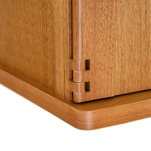 木組みの戸軸回し
