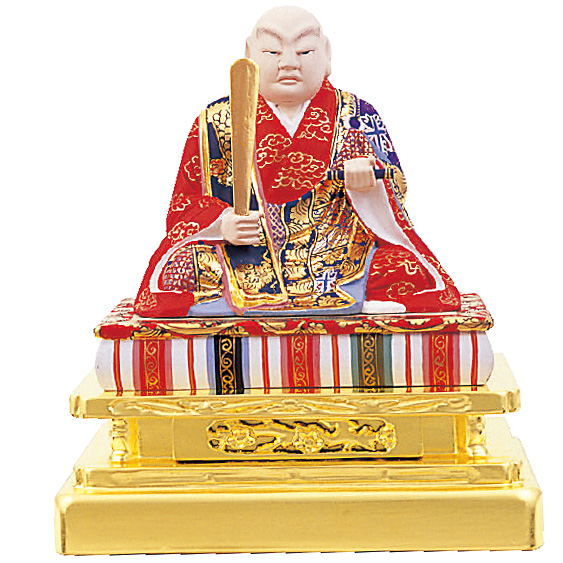 木製彩色 京型 日蓮