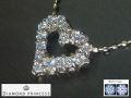 DIAMOND PRINCESS 【全石ハート&キューピットダイヤ使用!】 K18ピンクゴールドダイヤハートペンダント N1455BPG