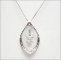 【即日発送可!スイングする大粒ダイヤが素敵です♪】 プラチナ900/K18ホワイトゴールド ダイヤモンド ペンダント PNPT023ODO