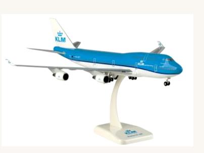 HoganWings/ホーガンウイングス B747-400 KLMオランダ航空 City of Tokyo ランディングギア・スタンド付属