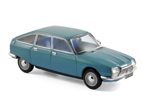 NOREV/ノレブ シトロエン GS 1971 カマルグ ブルー