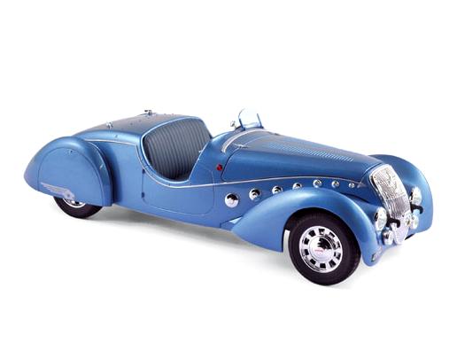 NOREV/ノレブ プジョー 302 Darl'Mat ロードスター 1937 メタリックブルー