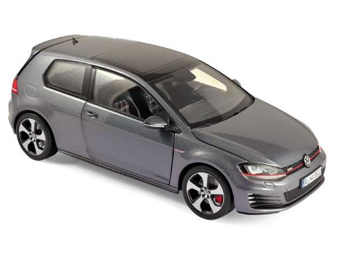 NOREV/ノレブ VW ゴルフ GTI (2013) Carbon Steel グレー