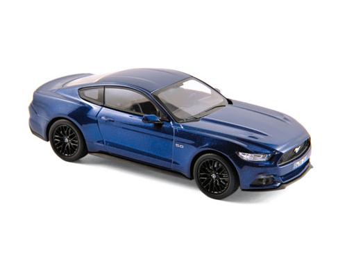 NOREV/ノレブ フォード マスタング ファストバック 2015 ブルー メタリック