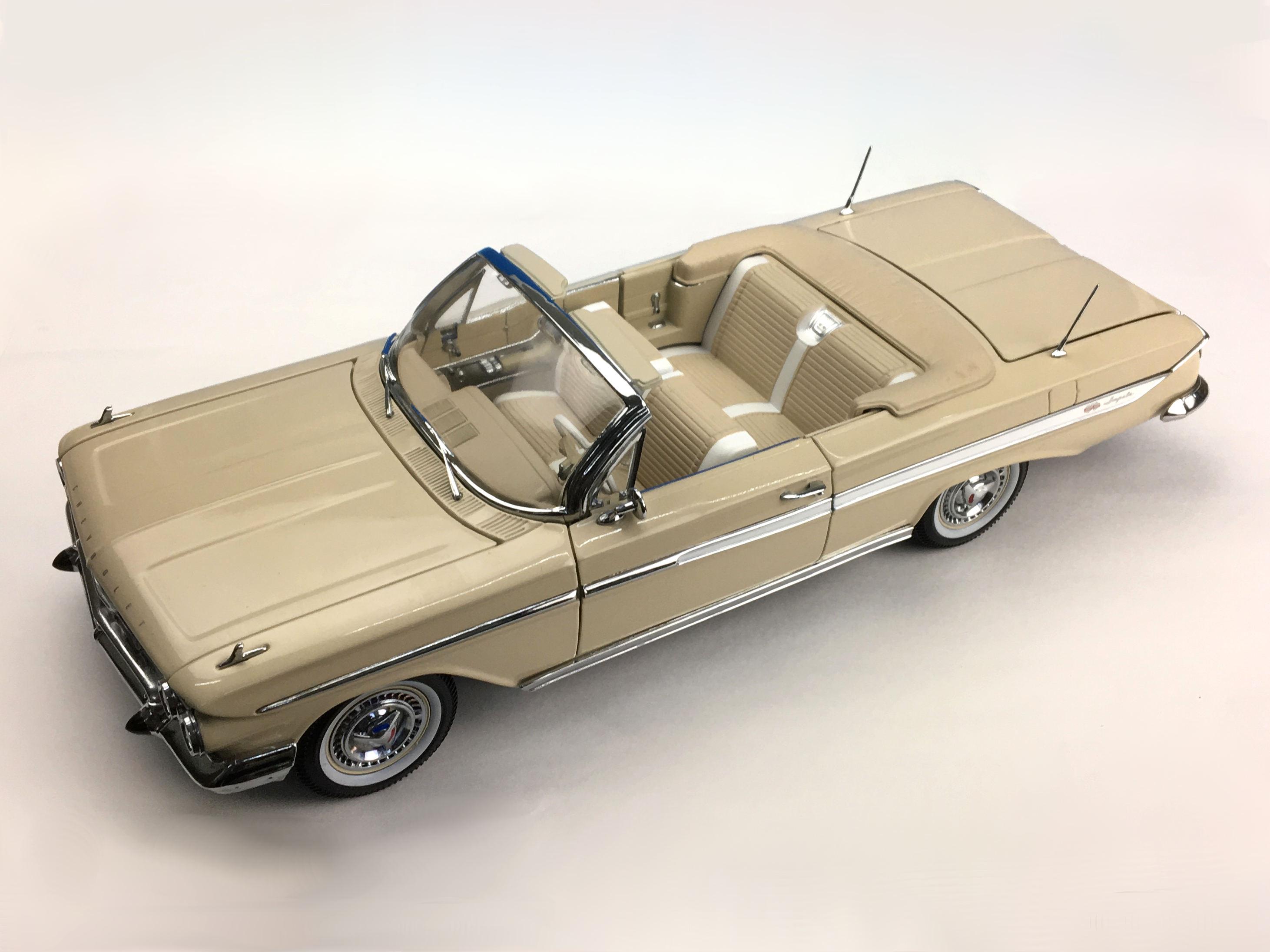 SunStar/サンスター シボレー インパラ オープン コンバーチブル 1961 アーモンドベージュ