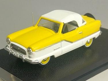 VITESSE/ビテス ナッシュ メトロポリタン クーペ 1959 ホワイト/Sunburst イエロー