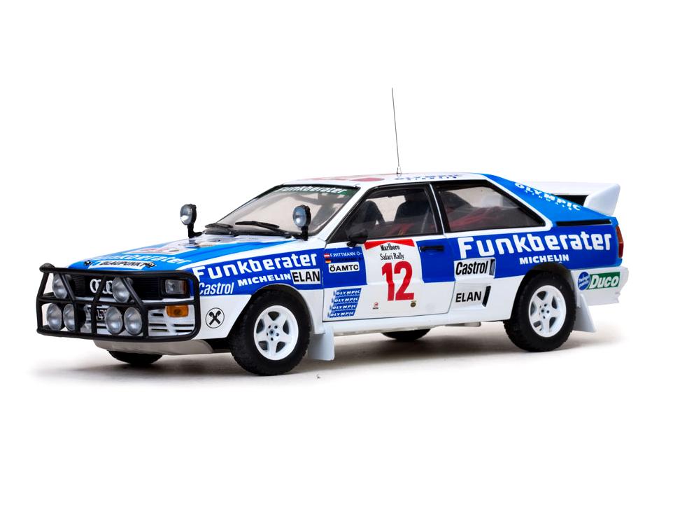 SunStar/サンスター アウディ クアトロ A2 1984年サファリラリー #12 F.Wittmann/P.Diekmann