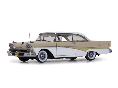 SunStar/サンスター フォード フェアレーン 500 ハードトップ 1958 デザートベージュ/コロニアルホワイト