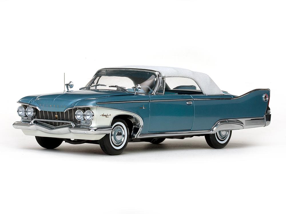 SunStar/サンスター プリムス フューリー クローズドコンバーチブル 1960