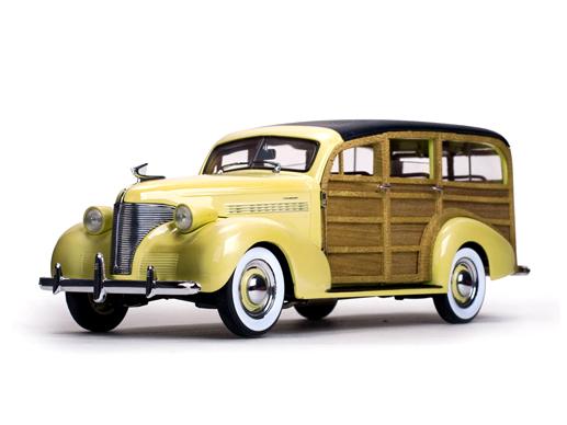 SunStar/サンスター シボレー ウッディ ステーションワゴン 1939 イタリアン クリーム